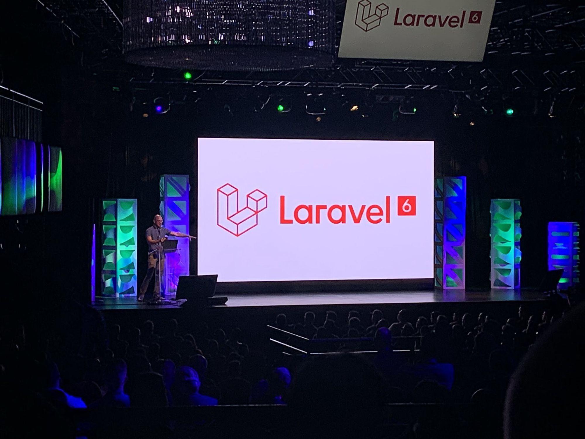 Laracon Laravel 2019 experience talks