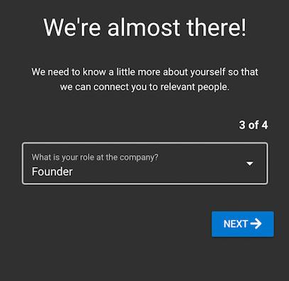 QR experience question screenshot