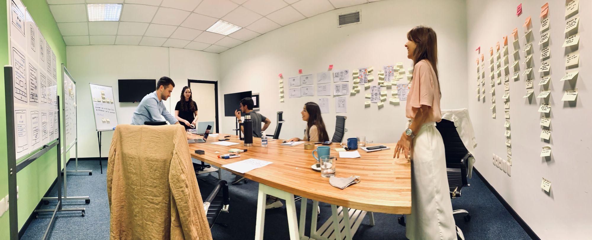 team design sprint room